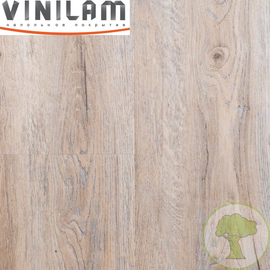 Виниловое покрытие VINILAM CERAMO click 4.5 mm с подложкой 8870 Дуб Женева 43кл 4Vmicro 1520mmх225mmх4.5mm 8пл. 2.74м2/уп