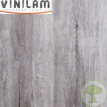 Виниловое покрытие VINILAM CERAMO click 4.5 mm с подложкой 8880 Дуб Давос 43кл 4Vmicro 1520mmх225mmх4.5mm 8пл. 2.74м2/уп