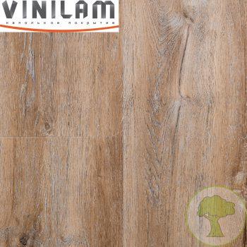 Виниловое покрытие VINILAM CERAMO click 4.5 mm с подложкой 8895 Дуб Биль 43кл 4Vmicro 1520mmх225mmх4.5mm 8пл. 2.74м2/уп