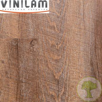 Виниловое покрытие VINILAM click 4 mm 81137 Дуб Майнц 43кл 4V 1219mmх184mmх4mm 10пл. 2.24м2/уп