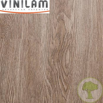 Виниловый ламинат Vinilam 2.5mm 14609 Дуб Ваймар 43кл 1228mmх188mmх2.5mm 18пл. 4.16м2/уп