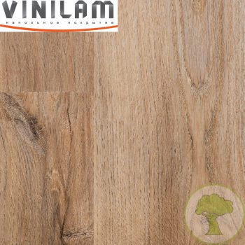 Виниловый ламинат Vinilam 2.5mm 15783 Дуб Амберг 43кл 1228mmх188mmх2.5mm 18пл. 4.16м2/уп