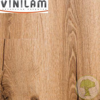 Виниловый ламинат Vinilam 2.5mm 18222 Дуб Марбург 43кл 1228mmх188mmх2.5mm 18пл. 4.16м2/уп