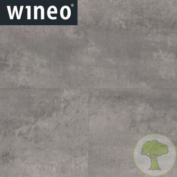 Виниловое покрытие Wineo 400 DB Stone DB00141 Glamour Concrete Modern 31кл 609.6mmх304.8mmх2mm 18пл. 3,34м2/уп