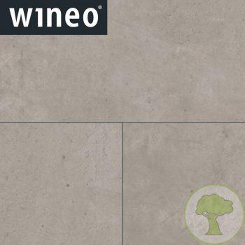 Виниловое покрытие Wineo 400 DLC Stone DLC00135 Vision Concrete Chill 4V 31/41кл 600mmх316.8mmх4.5mm 12пл. 2,28м2/уп