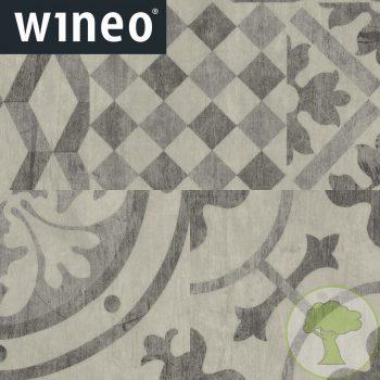 Виниловое покрытие Wineo 800 DB Craft DB00093 Mosaic Dark 23/33/42кл 457.2mmх457.2mmх2.5mm 16пл. 3,34м2/уп