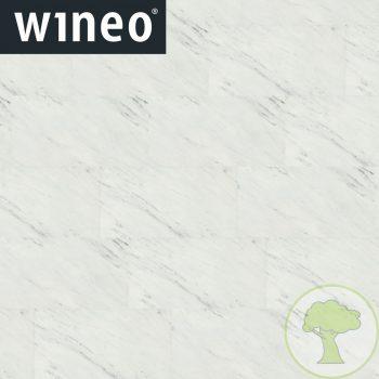 Виниловое покрытие Wineo 800 DLC Stone XL DLC00090 White Marble 23/32/42кл 914mmх480mmх5mm 6пл. 2,63м2/уп