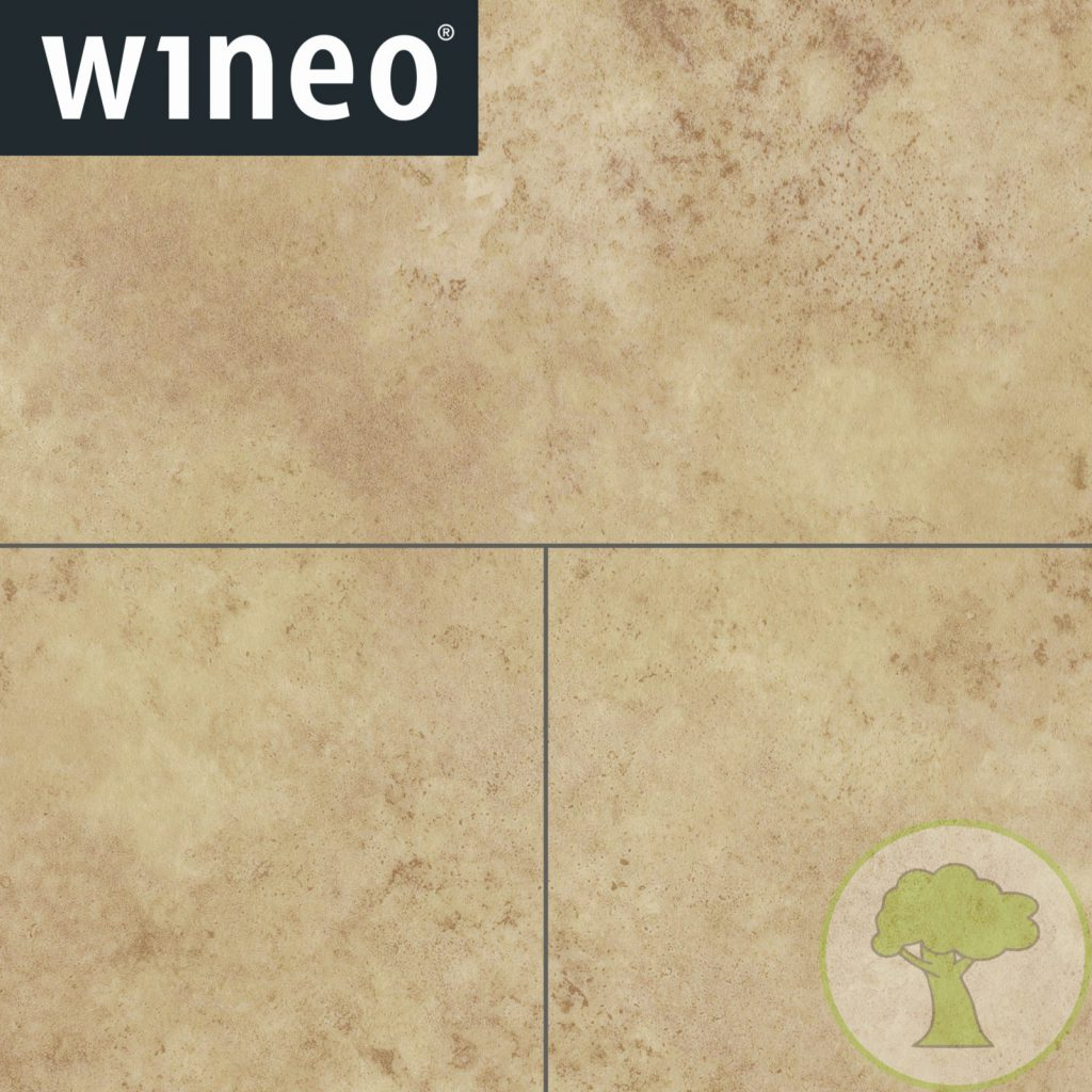 Виниловое покрытие Wineo 800 DLC Stone XL DLC00095 Light Sand 23/32/42кл 914mmх480mmх5mm 6пл. 2,63м2/уп