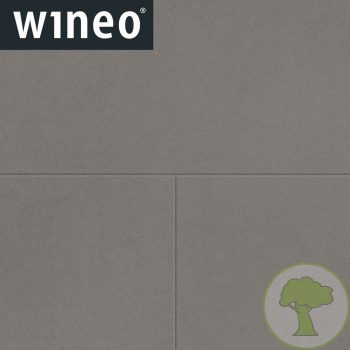 Виниловое покрытие Wineo 800 DB Tile DB00097-1 Solid Grey 4Vmicro 23/33/42кл 914.4mmх914.4mmх2.5mm 6пл. 5,02м2/уп