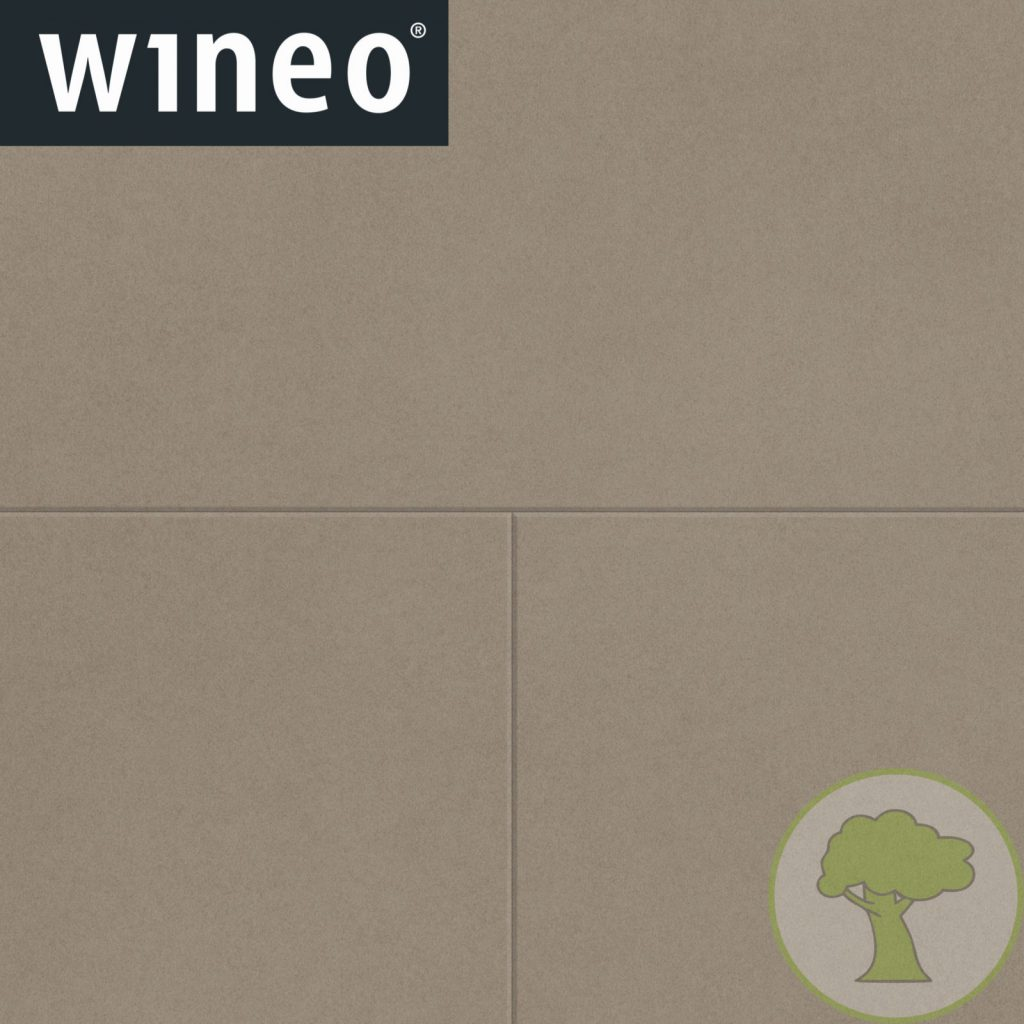 Виниловое покрытие Wineo 800 DB Tile DB00098-1 Solid Umbra 4Vmicro 23/33/42кл 914.4mmх914.4mmх2.5mm 6пл. 5,02м2/уп