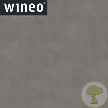 Виниловое покрытие Wineo 800 DB Tile DB00097-2 Solid Grey 4Vmicro 23/33/42кл 914.4mmх457.2mmх2.5mm 10пл. 4,18м2/уп