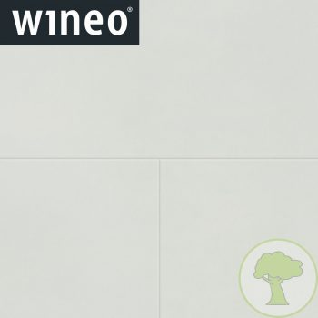 Виниловое покрытие Wineo 800 DB Tile DB00102-2 Solid White 4Vmicro 23/33/42кл 914.4mmх457.2mmх2.5mm 10пл. 4,18м2/уп