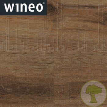 Виниловое покрытие Wineo 800 DLC Wood XL DLC00061 Santorini Deep Oak 4Vmicro 42кл 1505mmх237mmх5mm 6пл. 2,14м2/уп