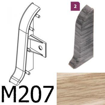 Соединитель -торцевая заглушка правая CEZAR Premium матовый Дуб Sude М207